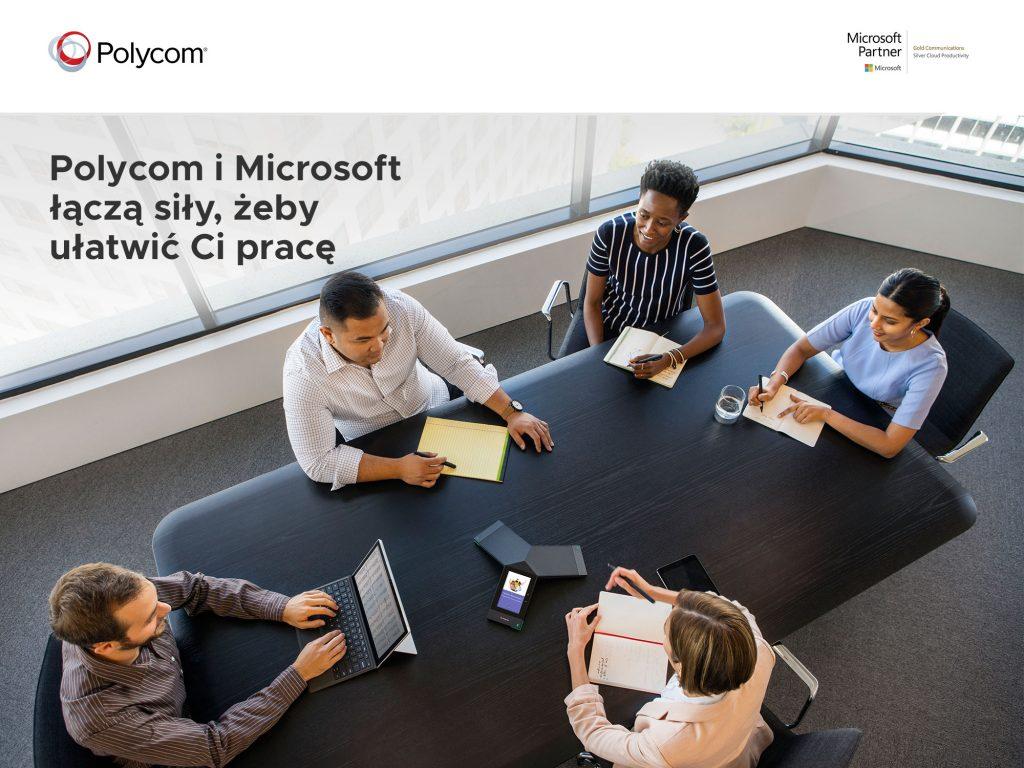 Polycom partnerem Microsoft